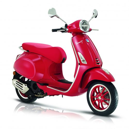 Vespa Primavera RED edition Euro5